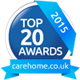Top 20 Awards from carehome.co.uk